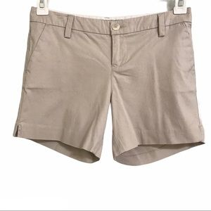 SALE Old Navy Mid-Rise Chino Khaki Shorts